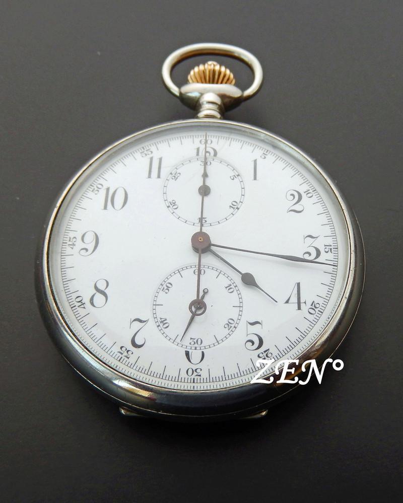 Rareté :Le Chronographe suisse d'un pilote japonais de la 2ème guerre mondiale.  Longin14