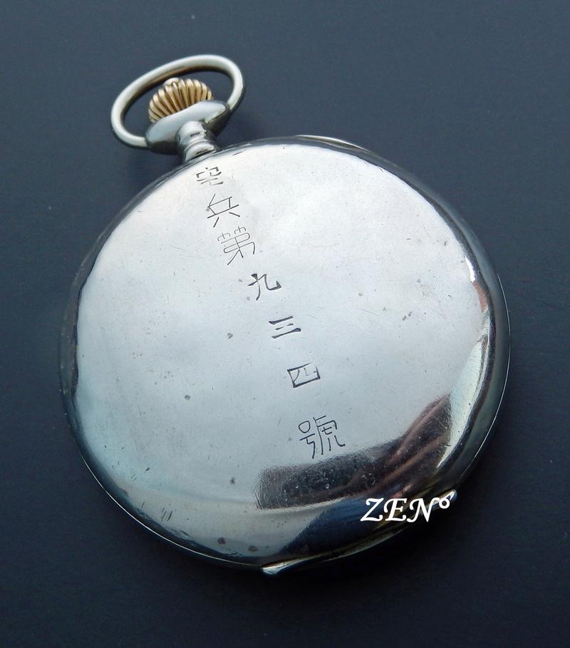 Rareté :Le Chronographe suisse d'un pilote japonais de la 2ème guerre mondiale.  Longin16