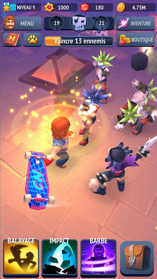 CHUCK NORRIS annonce la sortie de son jeu mobile NONSTOP CHUCK NORRIS 17041811
