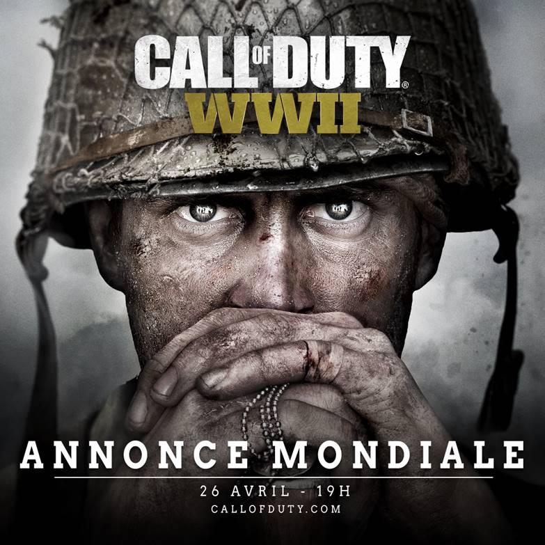 Call of Duty : WWII - Suivez en direct l'annonce mondiale 7904b710