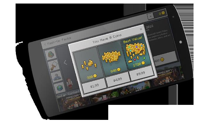 Minecraft dévoile son Marketplace Mineco10