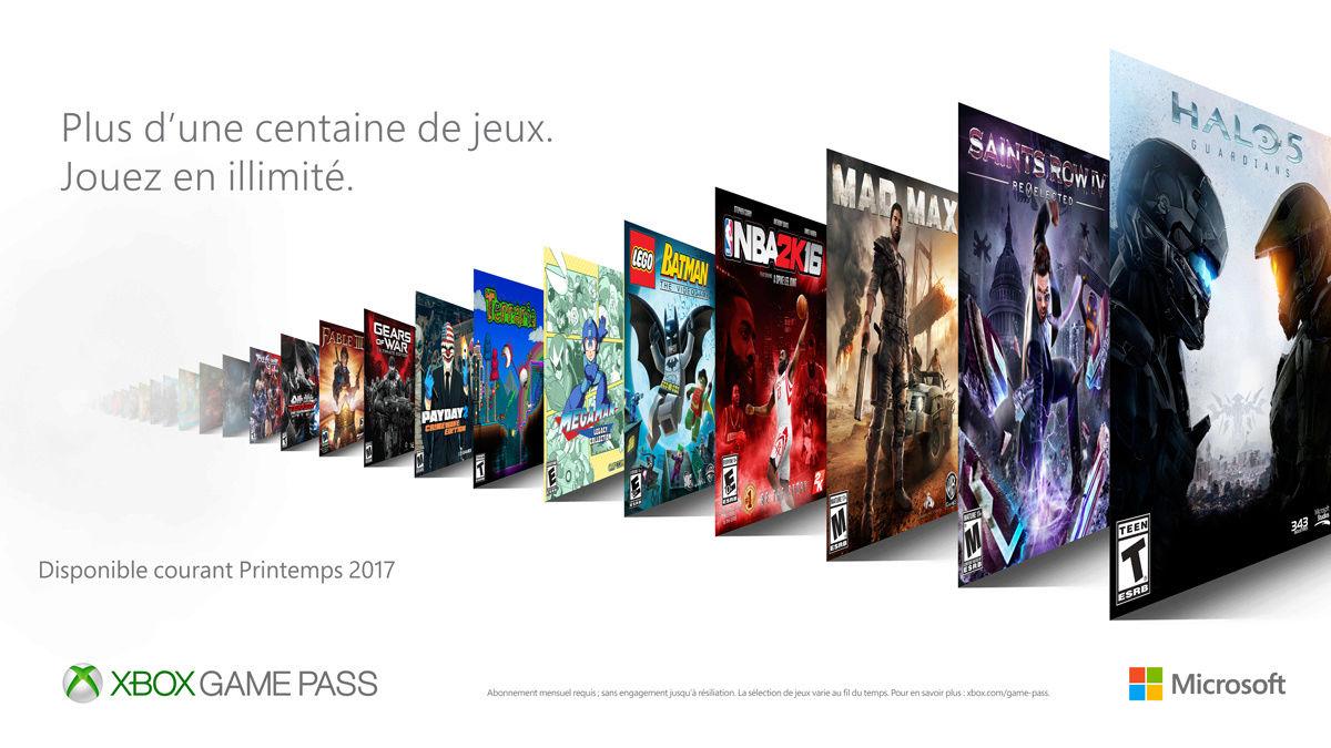 box Game Pass : un accès illimité à plus de 100 jeux sur Xbox One  Xbox_g10