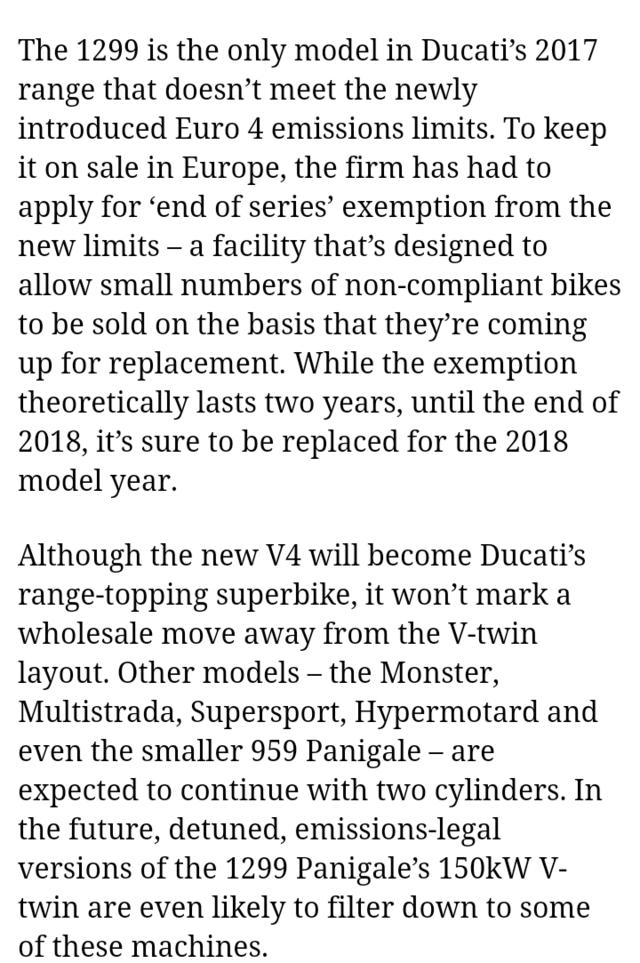 [Actu]Ducati va sortir un V4 grande série dérivé du MotoGP ! Screen17