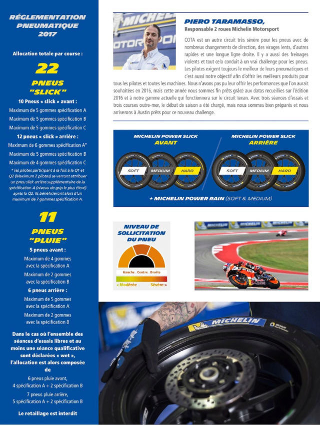 MOTOGP AUSTIN Texas USA ce week end : Programme Screen44