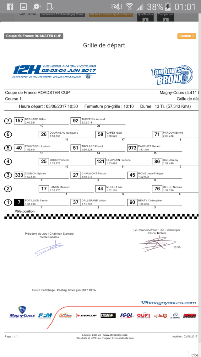 WERC Roadster cup à Magny-Cours ce week end Screen71