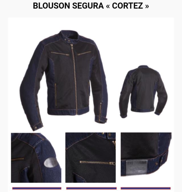 Blouson été Ségura CORTEZ Screen75