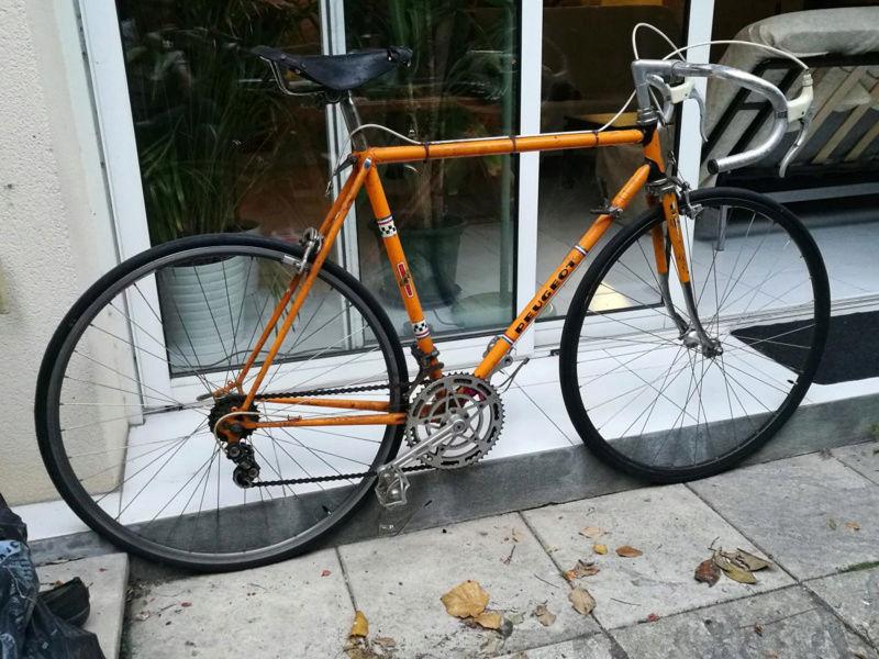 Besoin d'aide pour identification vélo course Peugeot. Peugeo11