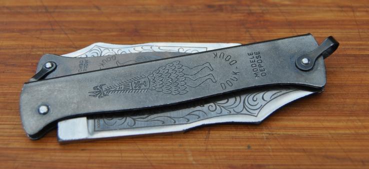 Couteaux gaulois Douk110