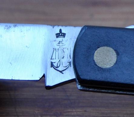 Couteau marine belge Marine13