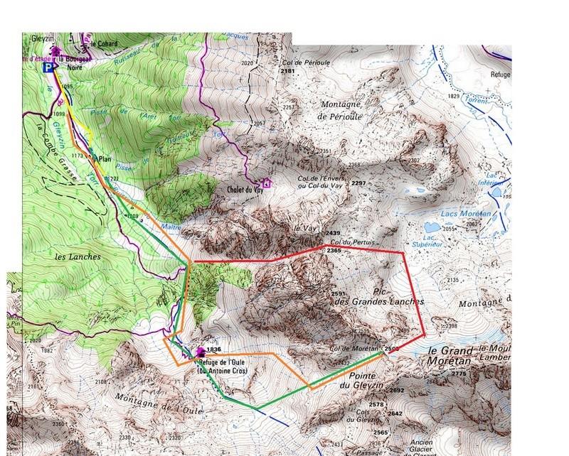 Week end prolongé dans le massif de Belledonne (8 au 10/03/2017) Moreta10