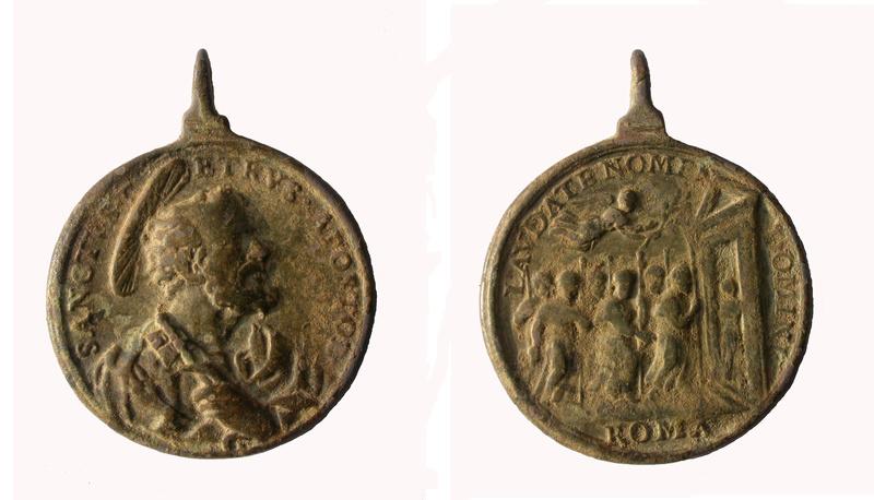 Medalla de San Pedro Apostol / Puerta Santa 14_85_13