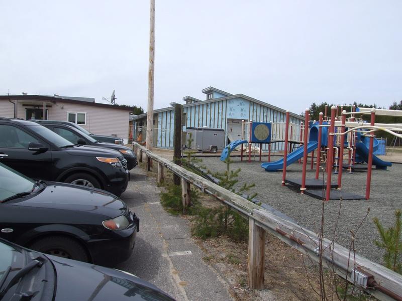 La construction de la nouvelle école progresse bien!  Dscf3127