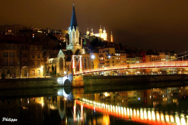 Lyon By Night coté Saône 1_210
