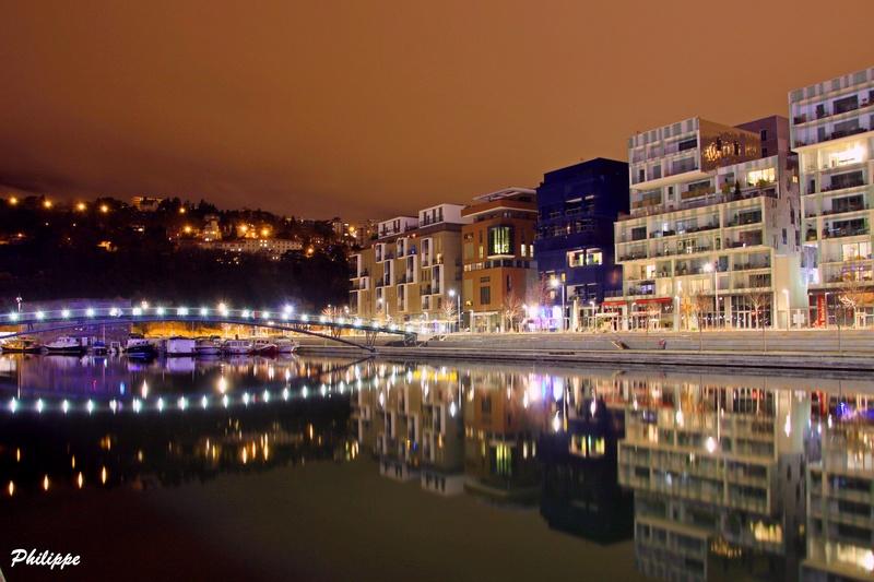 Lyon By Night coté Saône 1_310