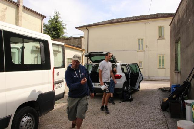 Compte rendu de notre cession en Italie Italie68