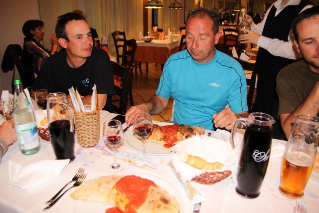 Compte rendu de notre cession en Italie Italie74