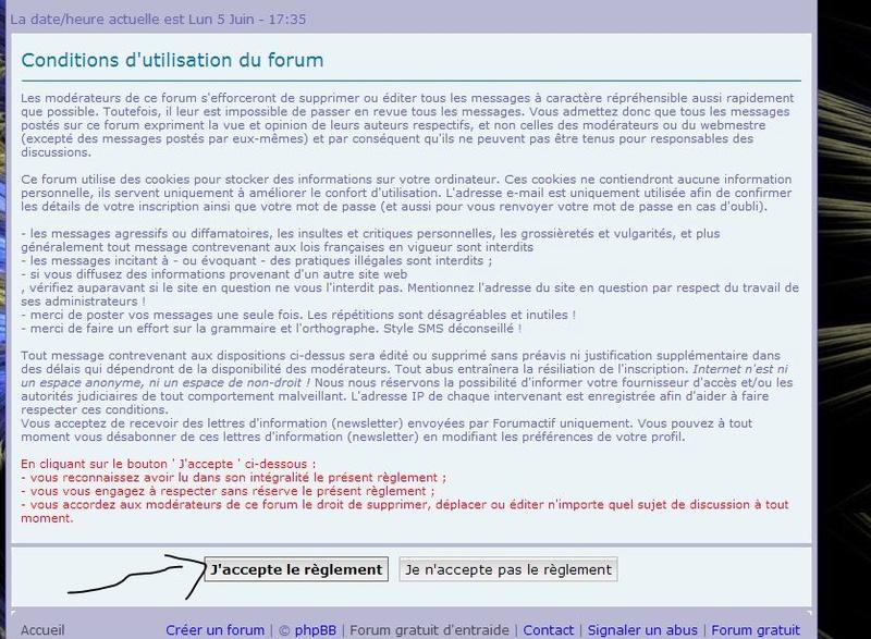 Tutoriel: Comment s'inscrire sur le forum pas à pas . 2_acce11