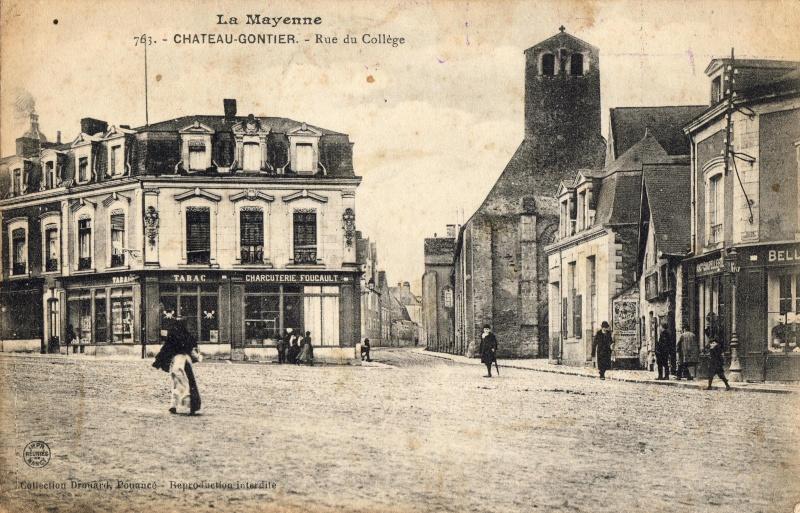 1914 hopital chateau gontier Sociat12