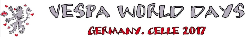 VESPA  WORLD DAY'S CELLE (DUITSLAND) Celle210