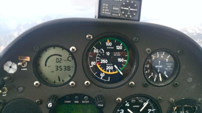 """planeur : un exemple de vol en campagne (= """"cross"""" dans le language velivole) Dsc_0910"""