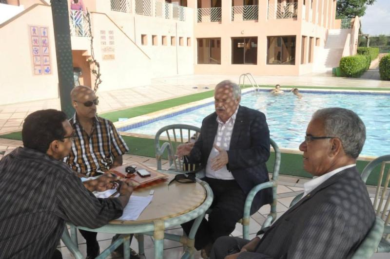 Reportage photos de la constitution de COM/MAROC 2210