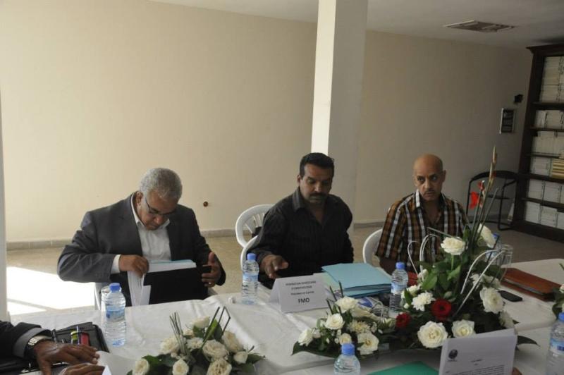 Reportage photos de la constitution de COM/MAROC 2610