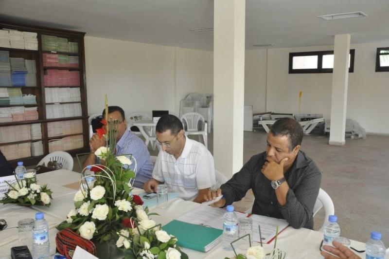 Reportage photos de la constitution de COM/MAROC 2710