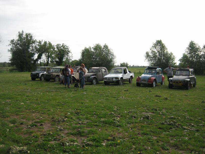 GO ---->>> Sortie 2CV 4X4 Parc marquenterre Samedi 10 Juin 2017 Marque10