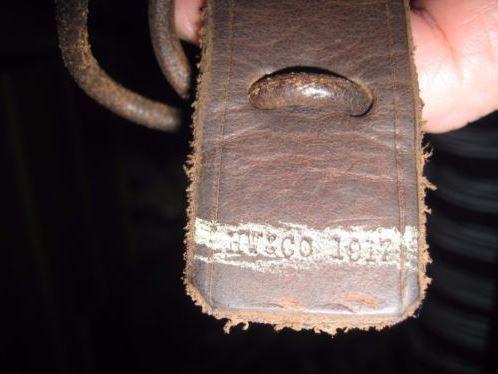 Bretelle cuir 1917 pour Lee-Enfield Hwcc1910