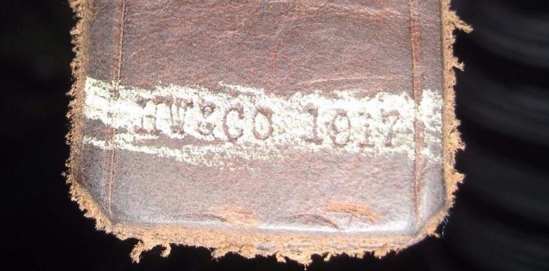 Bretelle cuir 1917 pour Lee-Enfield Marqua10