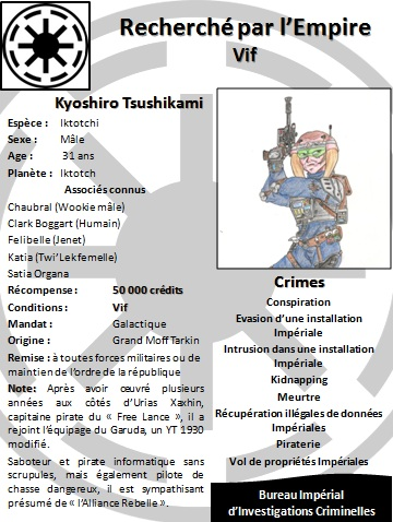 Kyoshiro Tsuchikami, pirate de l'espace et Rebelle Kyoshi10