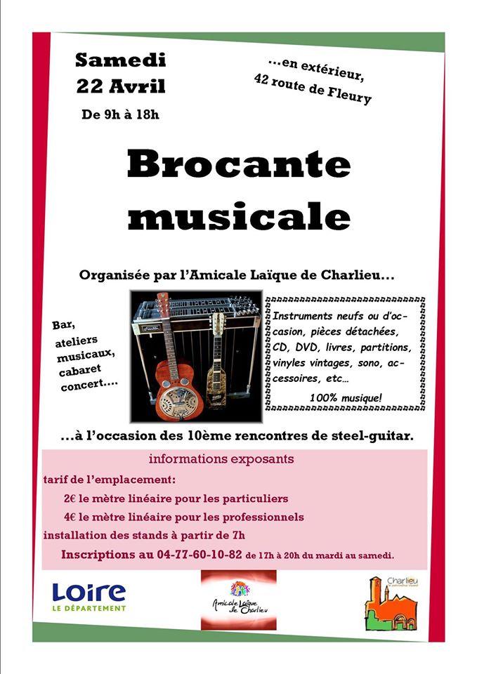 Brocante Musicale samedi 22 avril à l'Amicale Laïque Brocan10