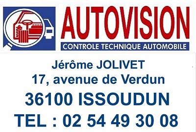 ISSOUDUN - AUTOVISION - Contrôle Technique Automobile Iss-au10