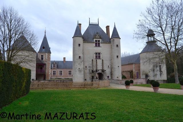 Chilleurs aux Bois – Le château de Chamerolles 01-02-10