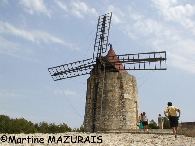 Fontvieille – Le moulin d'Alphonse Daudet 92-fon10