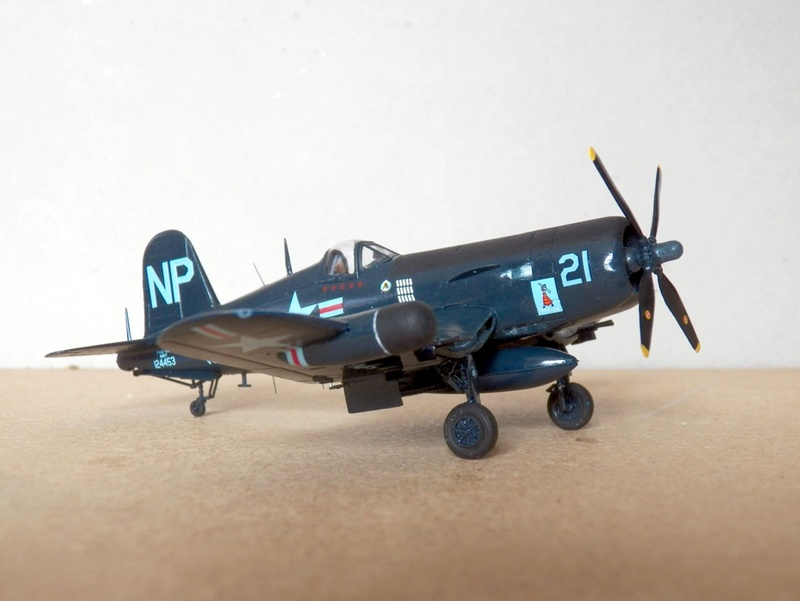 Vought F4U-5N et F4U-7, Italeri, 1/72 F4u-5n10