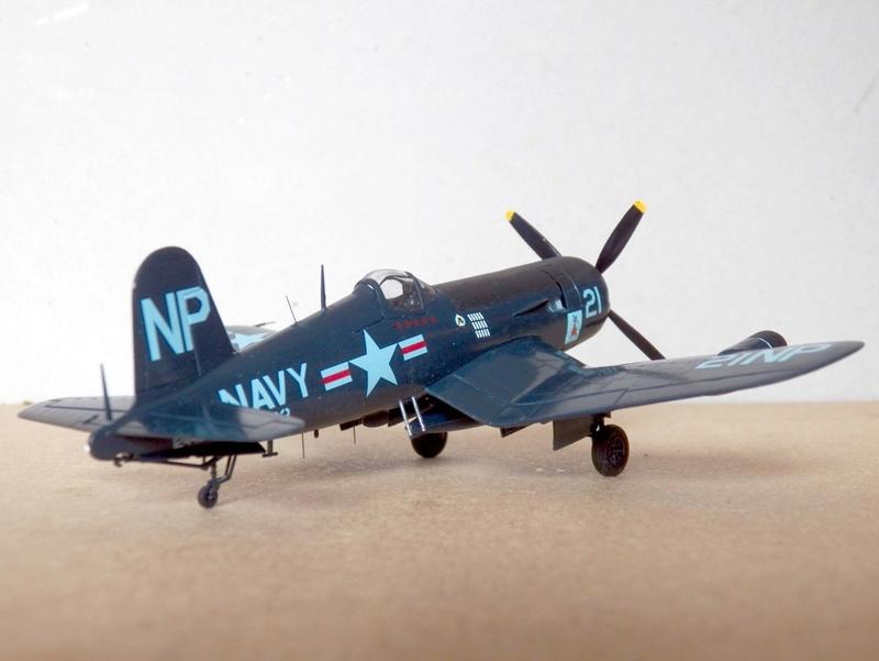 Vought F4U-5N et F4U-7, Italeri, 1/72 F4u-5n16