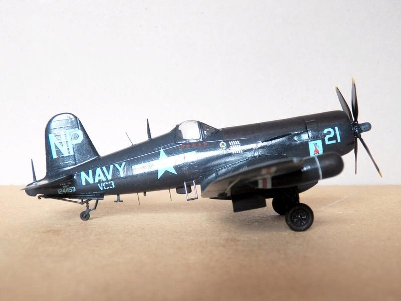 Vought F4U-5N et F4U-7, Italeri, 1/72 F4u-5n17