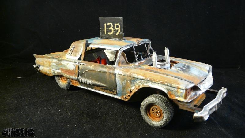 """The Rust Bucket"" Ford Thunderbird 1961. P1190110"