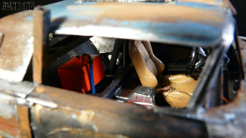 """The Rust Bucket"" Ford Thunderbird 1961. P1190113"