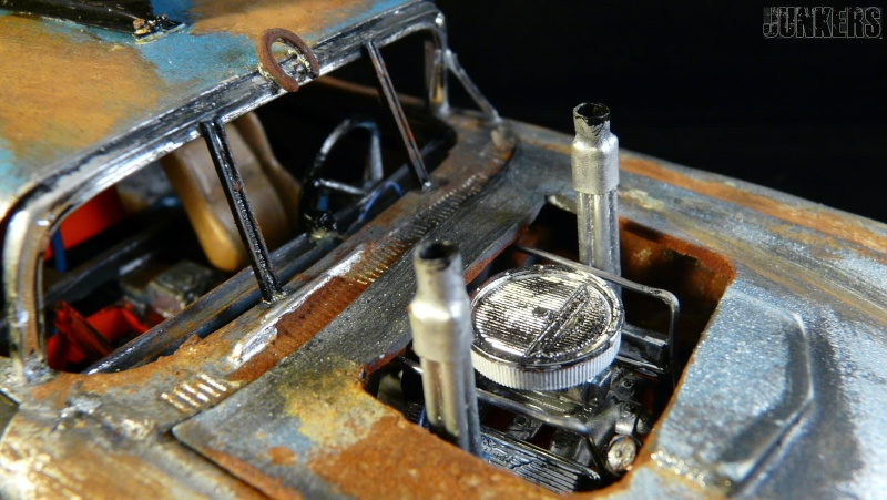 """The Rust Bucket"" Ford Thunderbird 1961. P1190114"