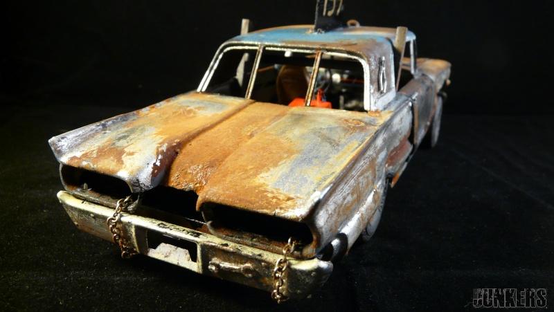 """The Rust Bucket"" Ford Thunderbird 1961. P1190116"
