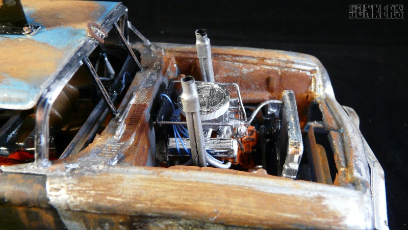 """The Rust Bucket"" Ford Thunderbird 1961. P1190117"