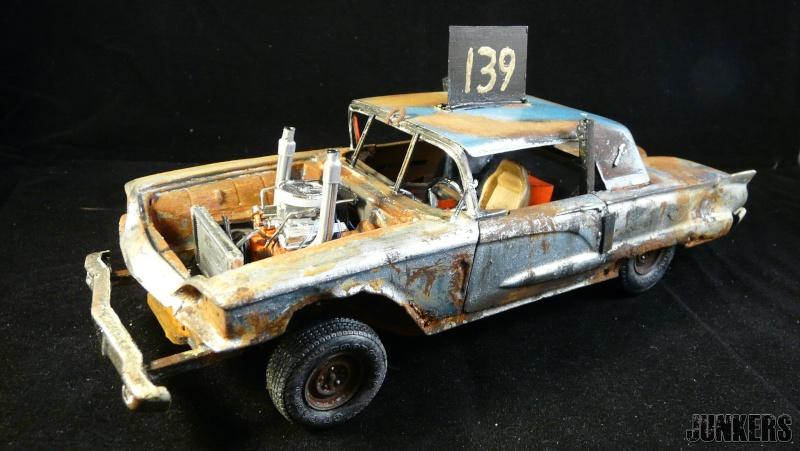 """The Rust Bucket"" Ford Thunderbird 1961. P1190210"