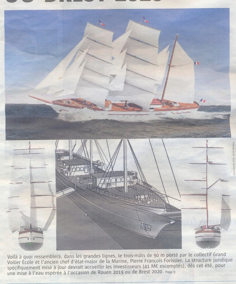 [ Marine à voile ] Projet du GVE (Grand Voilier Ecole) Voilie10