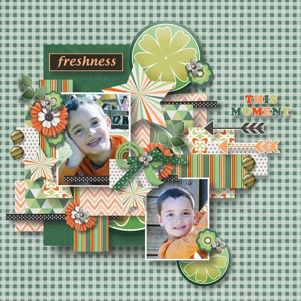 Orange dream Memory Mix at Mscraps - March 7. 2009-018