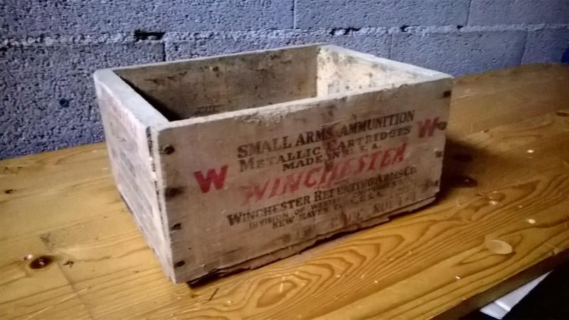 caisse de munitions Winchester WW2 Wp_20110