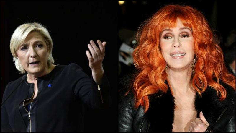 cher - Cher contre Marine Le Pen : ça disjoncte velu à Hollywood…  Cherle10