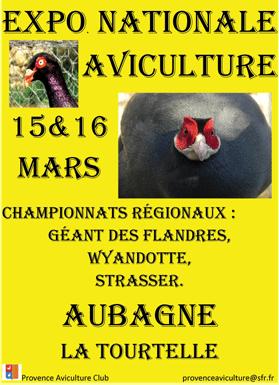 EXPOSITION AVICOLE AUBAGNE 15 & 16 MARS 2014 Au10