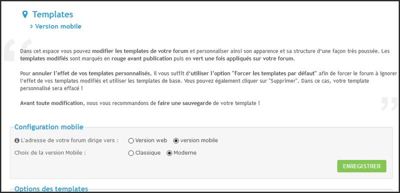 ModernBB : Une nouvelle version de forums Forumactif pour une meilleure expérience utilisateur. 06-03-11